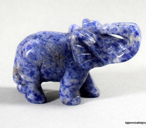 słoń z sodalitu
