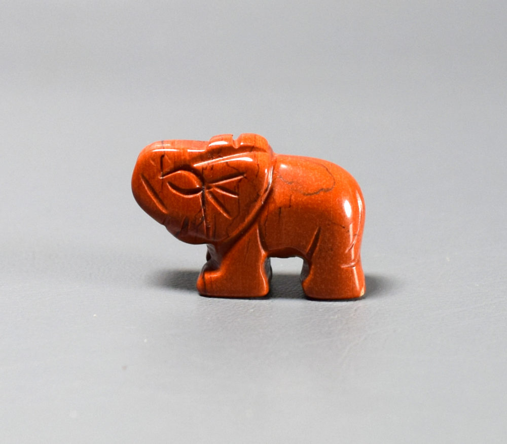 słoń z jaspisu na szczęście