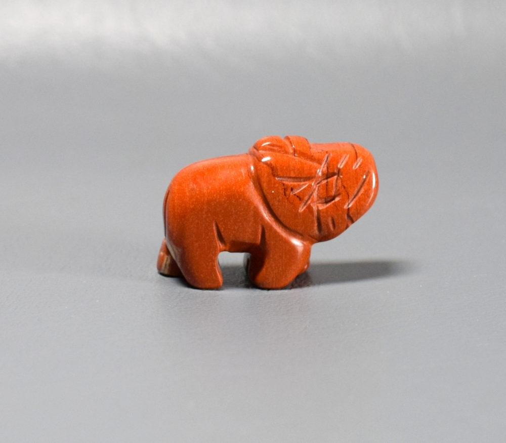 słonik z jaspisu na szczęście