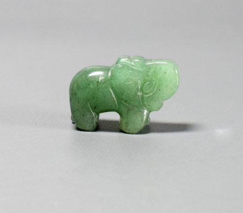słonik z awenturynu