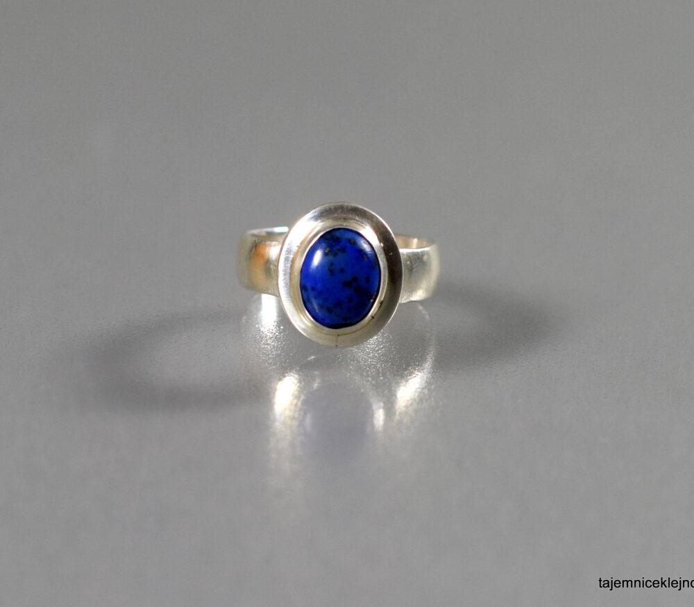 lapis lazuli, pierścionek
