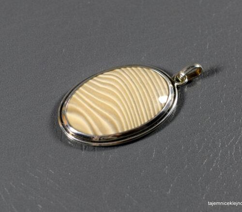 krzemień pasiasty biżuteria